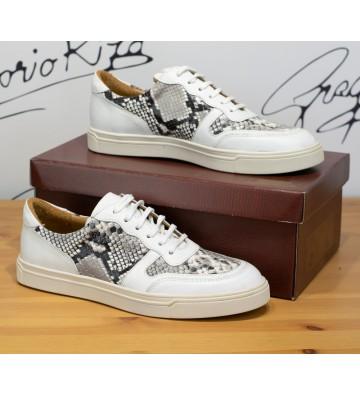 Sneakers din Piele...