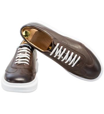 Sneakers Albi, din Piele...